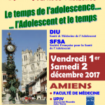 Journées SFSA-DIUAmiens, 1 & 2 décembre 2017 Inscriptions prolongées jusqu'au 25 Novembre