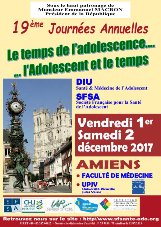 19èmes journées annuelles SFSA-DIU Amiens