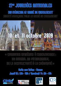 21° Journées nationales du DIU et de la SFSA à Rouen : Conduites extrêmes à l'adolescence